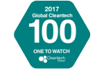 Nominated in the Global Cleantech 100 Ones to Watch List