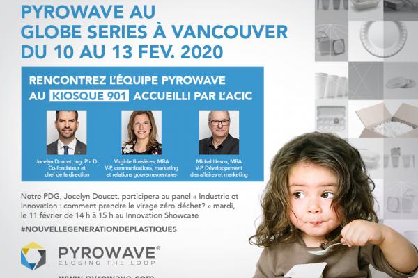 Rencontrez l'équipe Pyrowave au Globe Series du 10 au 13 février 2020
