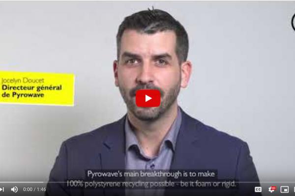 Pyrowave au forum Citeo sur les technologies innovantes de recyclage des plastiques