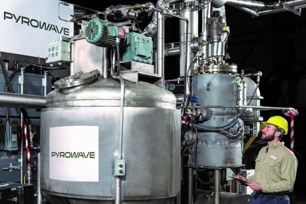 Images de la technologie Pyrowave