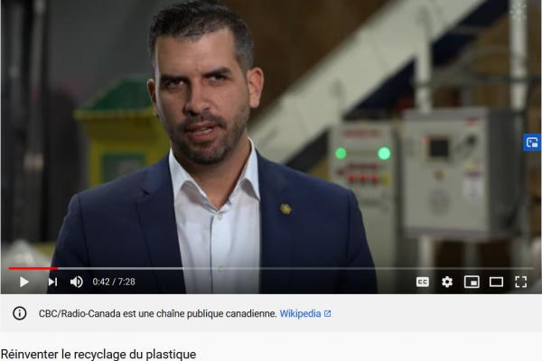 Réinventer le recyclage, un reportage avec Pyrowave diffusé sur Carbone, le nouveau portail environnemental de Radio-Canada
